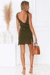 Love Delight V-Neck Knit Mini Dress - 2 Colors