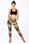 Christmas Light  Print Yoga Pants
