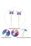 Rhinestones Butterfly Elegant Earrings