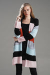 Rainbow Babe Striped Knit Cardigan - 2 Colors