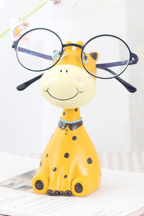 Lovely Giraffe Resin Glasses Rack