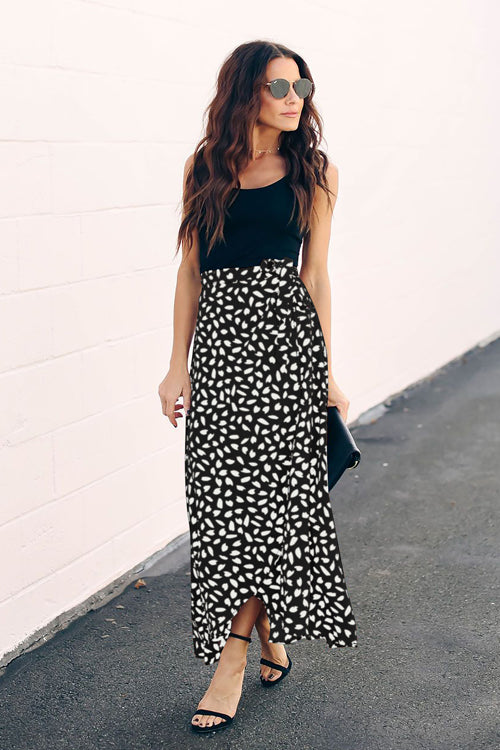 Modern Femme Printed Maxi Skirt - 3 Colors