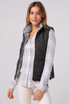 No Chill Comfort Reversible Teddy Vest - 4 Colors