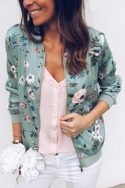 Spring Vibe Floral Print Jacket - 3 Colors