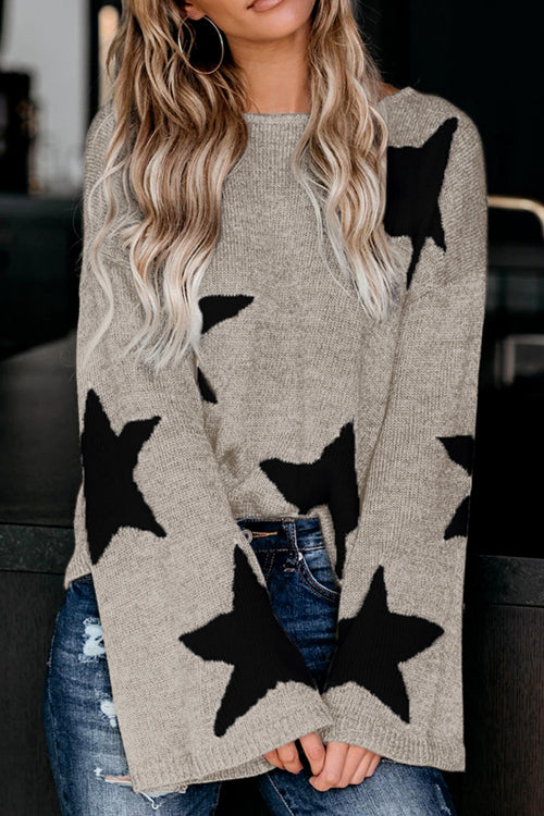 Chill With Me Long Sleeve Knit Sweater - 4 Colors