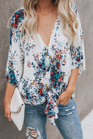 Lilyanna Boho Embroidery Long Sleeve Top