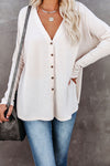 Crazy About You Lace Long Sleeve Top - 2 Colors