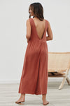 Always Thriving V-back Casual Tank Jumpsuit - 6 Colors