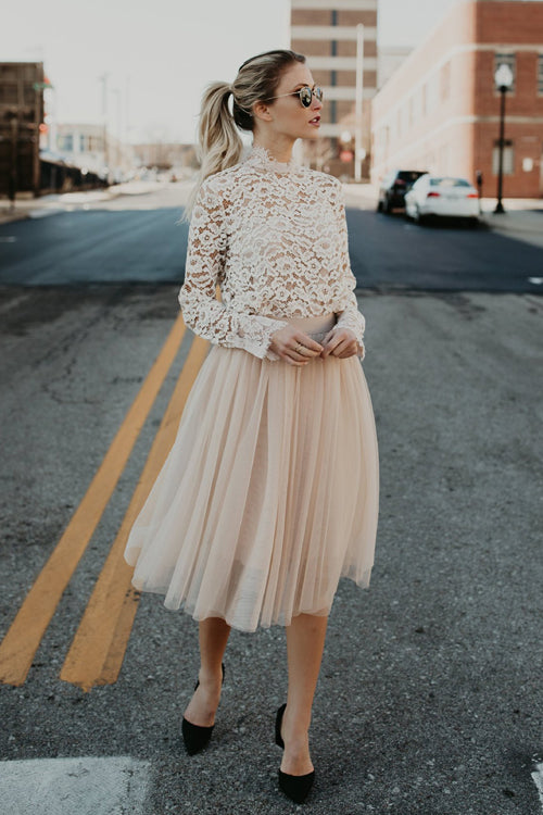 Gotta Have You Layered Tulle Skirt - 4 Colors