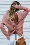 Only For You Cross Back Sweater - 3 Colors