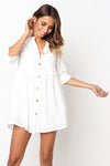 Come Alive Short Sleeve Shift Mini Dress - 6 Colors