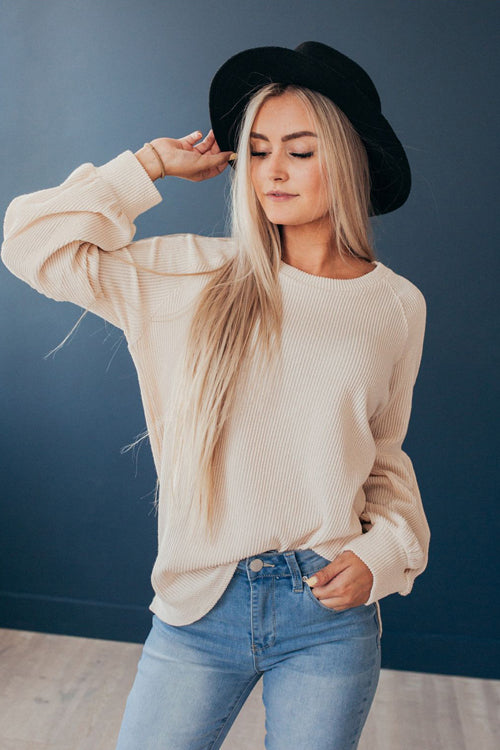Good Day Pure Color Knit Sweater - 3 Colors