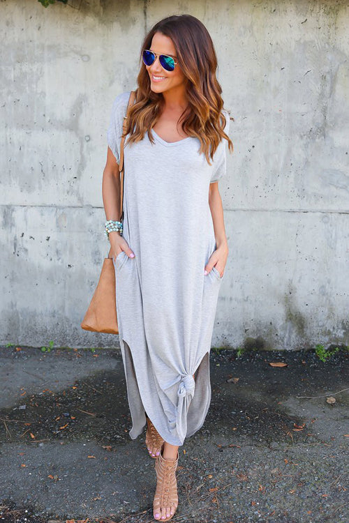 Ocean of Elegance Pocket Maxi Dress - 5 Colors