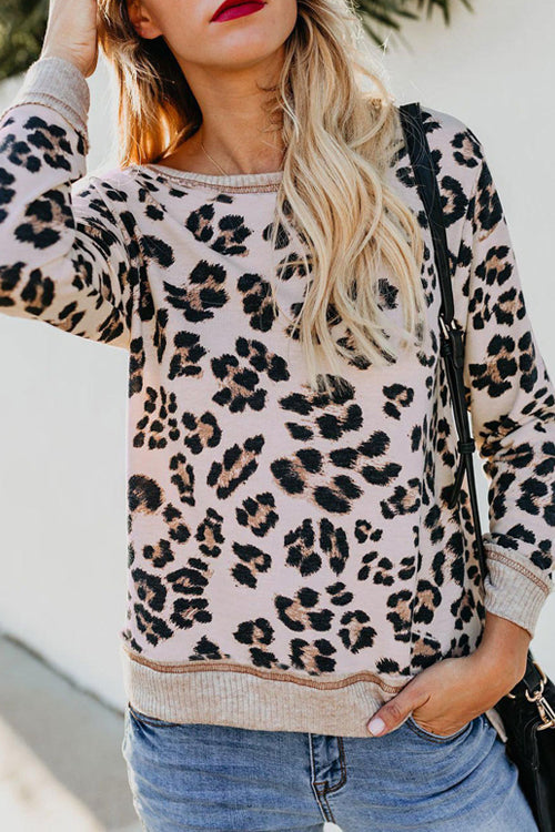 Lust for Life Leopard Print Top