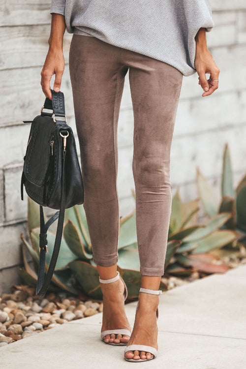 Count on Cute Zip Up Leggings - 3 Colors