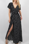 All Mine Polka Dot Maxi Dress - 4 Colors