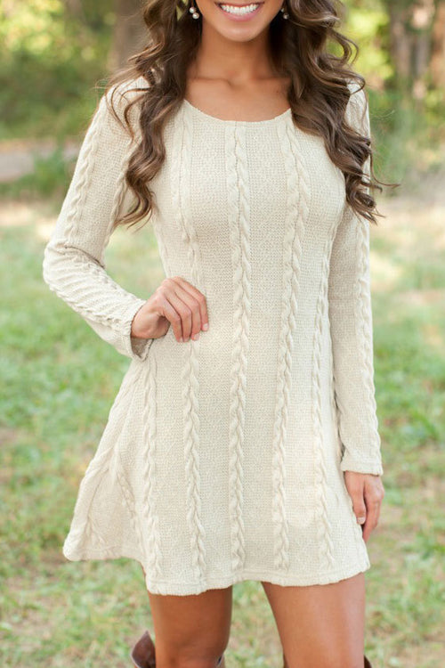 Pursuit of Happiness Knit Dress - 5 Colors
