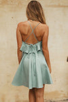 Heart of Marigold Backless Ruffle Dress - 3 Colors