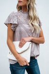 Lace Embroidered Romantic Blouse - 3 Colors