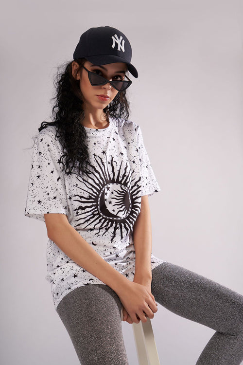 My Tee Print Black&White Tee - 2 Colors