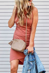 The Greatest Pleated Tank Mini Dress - 6 Colors