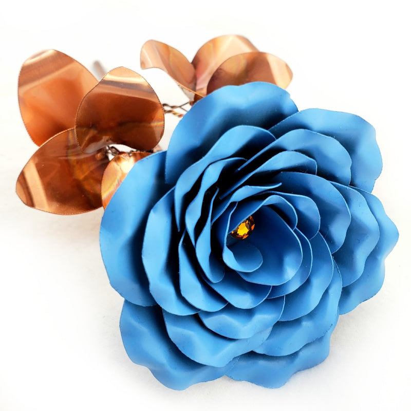 Painted Steel Rose's - Gifts for birthdays, weddings, anniversary, valentines - Steel Rose Company