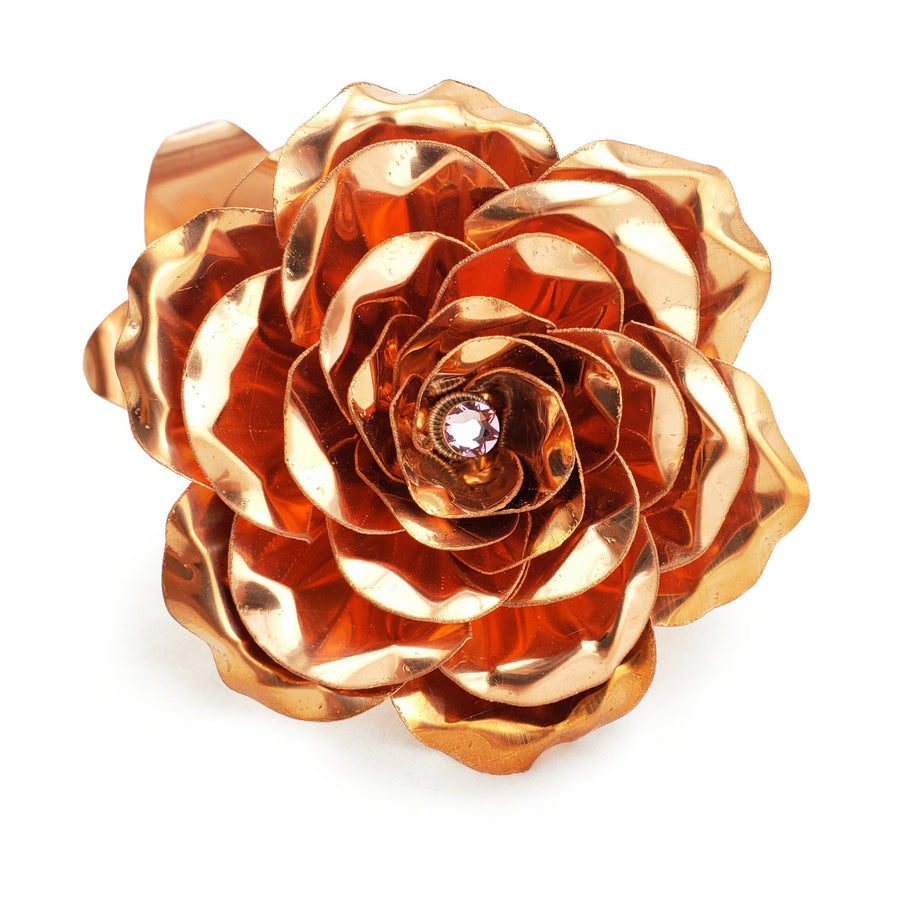 Copper Rose - Gifts for birthdays, weddings, anniversary, valentines - Steel Rose Company