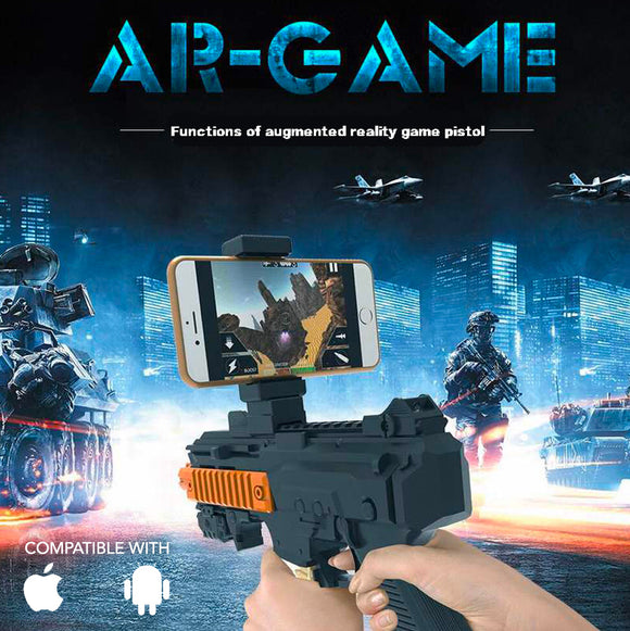 Augmented Reality Toy Gun Smartphone Game