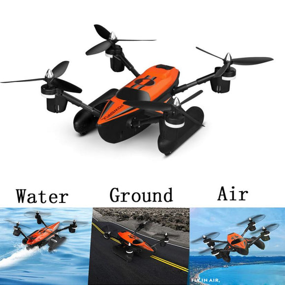 3 in 1 Air-Ground-Water Triphibian Drone