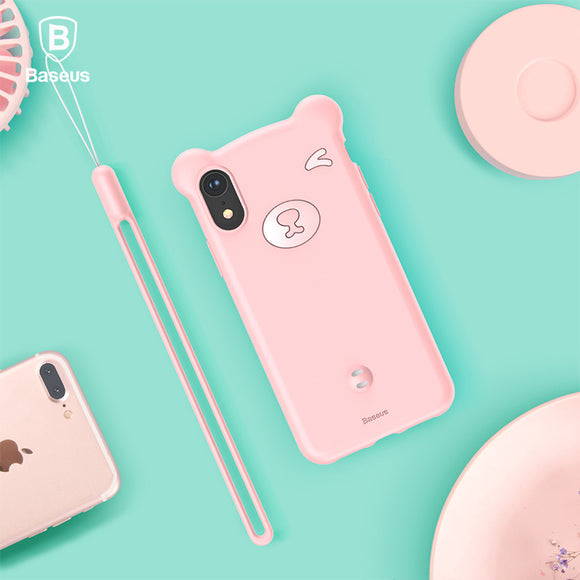 Cute Little Bear Case For iPhone Xs, Xs Max and Xr