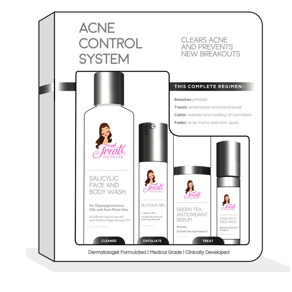 Acne Control System-Acne Control System-Treats for the Face Cosmetics