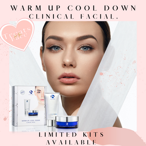Warm Up, Cool Down Facial Kit.-Treats for the Face Cosmetics