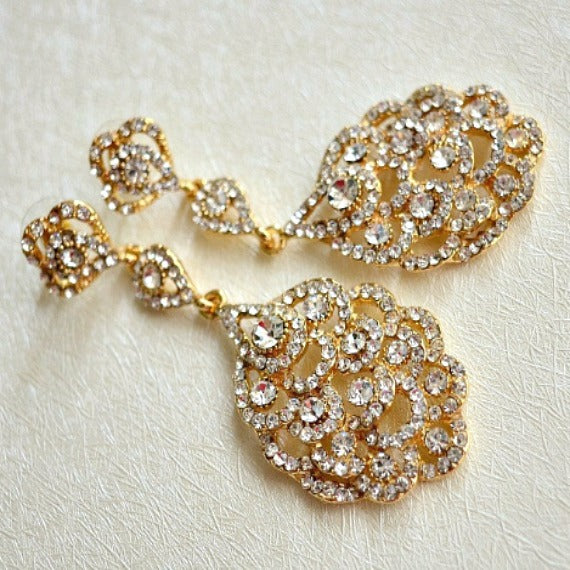 great gatsby wedding earrings