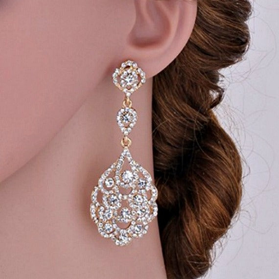 prom wedding bridal earrings
