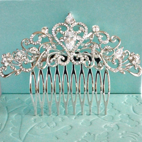 bridal wedding hair accessory