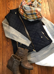 {State}ment Fall Vest