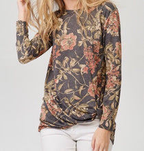 Ryder Floral Twist Top