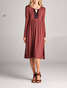 Cameryn Smokey Brown Dress