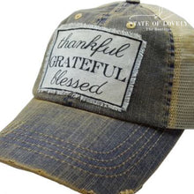 {State} Distressed Trucker Hat