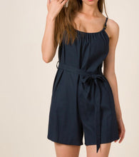 Midnight Navy Romper