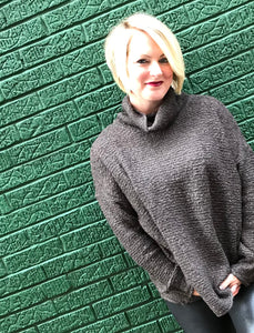 Charcoal Sunday Sweater
