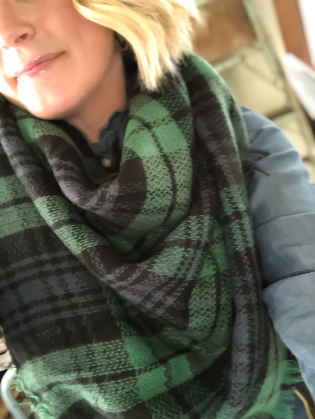{State}ment Blanket Scarf