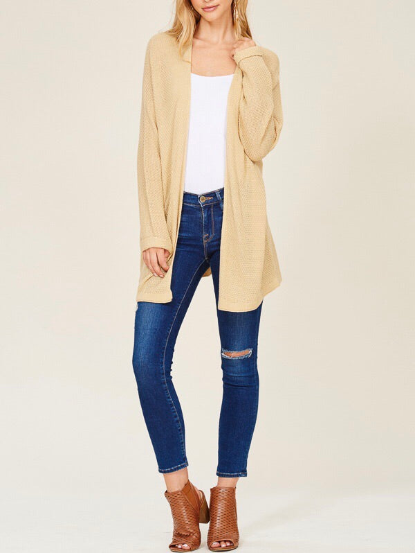Honey Cream Cardigan