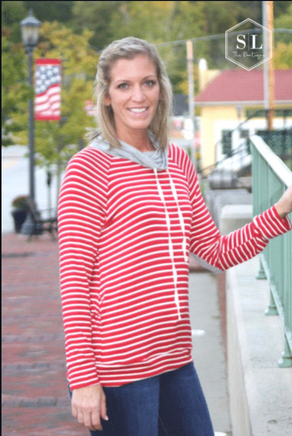 The Jane Striped Pullover