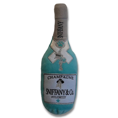 Sniffany Champagne Squeaky Plush Toy