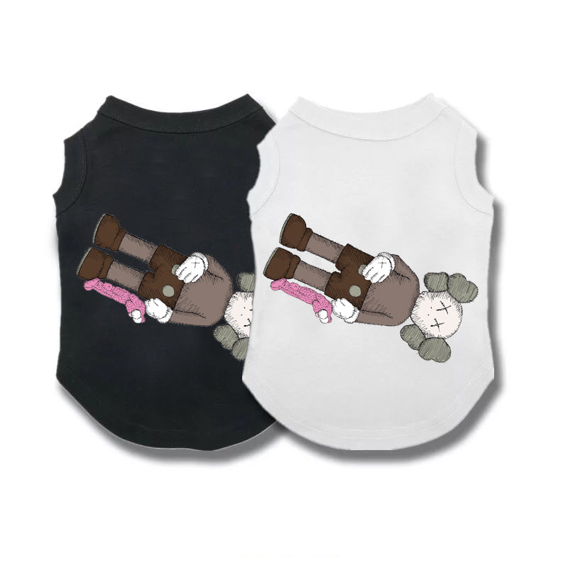Kaws Floating BFF Sleeveless Tee