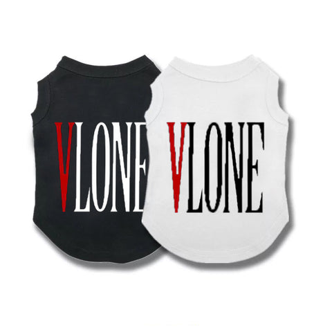 VBone Wording Sleeveless Tee