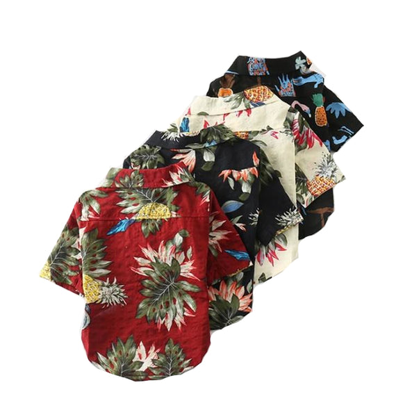 Summer Hawaiian Floral Shirt