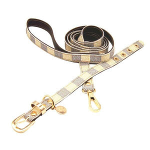 Louis-Pup Leash & Collar Set