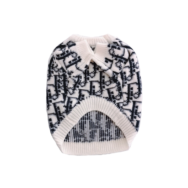 Chewing Dior Monogram Knit Sweater